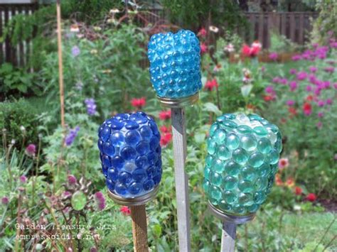 garden craft ideas garden treasure jars craft diy cozy home