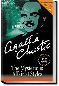 0007119275 the mysterious affair at styles the mysterious affair at styles agatha christie