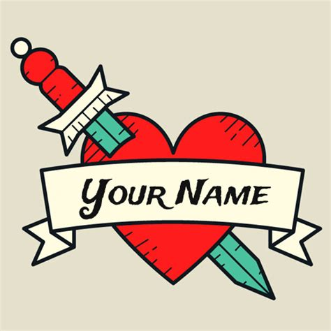 design your name tattoo create amazing designer with your name
