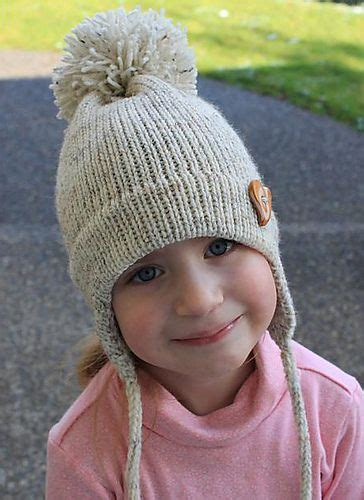 earflap hat knitting pattern ear flap hat free pattern knitting and crochet