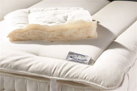 wool filled mattress topper bedding natural bed company