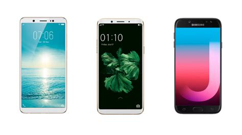Samsung J7 Plus Vs Oppo F5 vivo v7 vs oppo f5 vs samsung galaxy j7 pro price in india specifications features