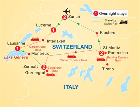 Trains In America by Scenic Switzerland By Rail