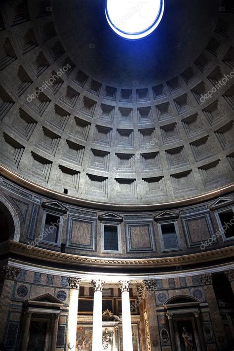 cupola pantheon roma 15 pante 243 n sundial efecto c 250 techo agujero roma italia