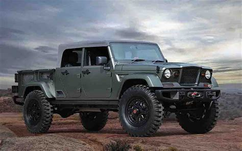 Jeep Truck Price 2018 Jeep Gladiator Price Release Date And Specs Cars