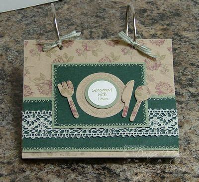 Handmade Recipe Books - 17 best images about handmade recipe books ideas on