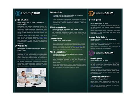 Brochure Templates Free For Word by 31 Free Brochure Templates Ms Word And Pdf Free