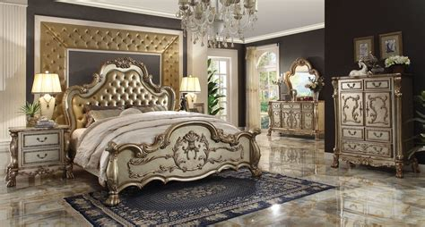 king and queen bedroom sets alaska gl08 2916 king queen bedroom set