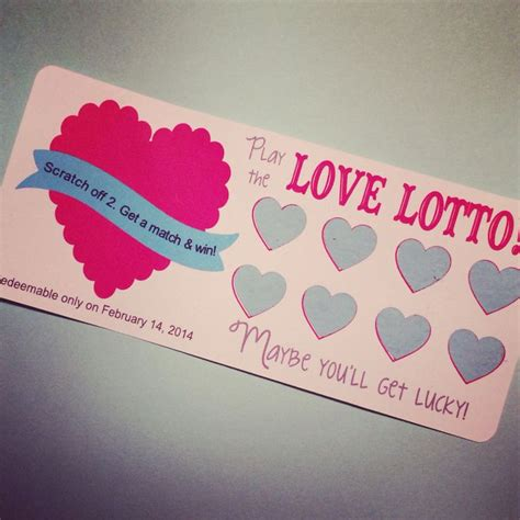valentines day tickets 17 best ideas about scratch tickets on