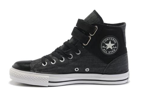 black converse jean 2 buckles chuck all