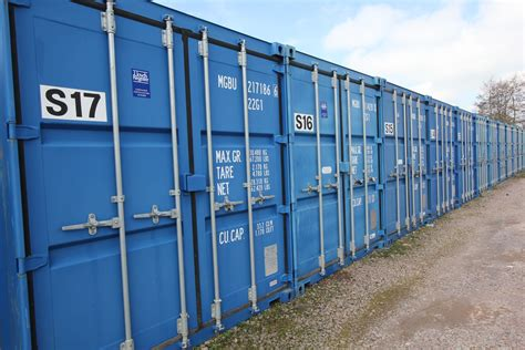 container store whilton caravan and container storage in northtonshire