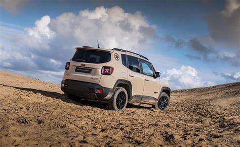 Jeep Renegade Ground Clearance Jeep Launches Limited Edition Renegade Desert Hawk Suv