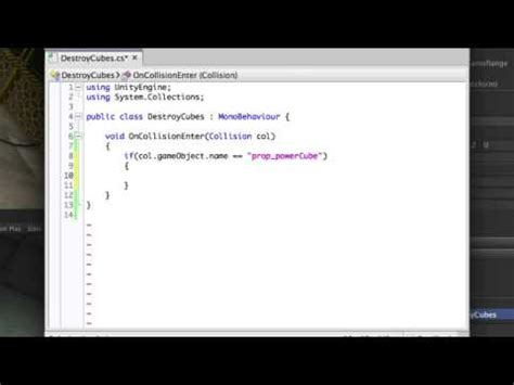 unity tutorial collision raycasting in unity 3 5 3 tutorial on collision raycasting
