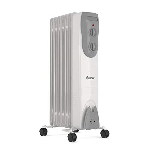 costway oil filled radiator heater  portable