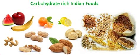 carbohydrates rich foods essential daily nutrients for healthy weight loss indian