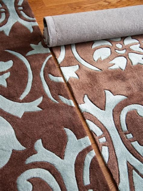 Make An Area Rug How To Make One Large Custom Area Rug From Several Small Ones Hgtv