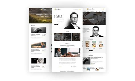 themes wordpress writers 17 best wordpress themes for writers and authors 2017