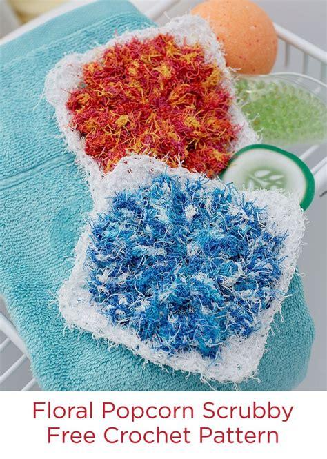 swirl scrubby free crochet pattern in red heart yarns best 25 scrubby yarn ideas on pinterest dishcloth