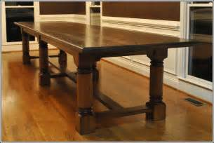 Solid Wood Kitchen Tables Turner Custom Furniture A Large Custom Dining Table