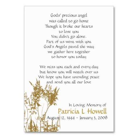 memorial prayer cards template 138 best images about funeral business cards on