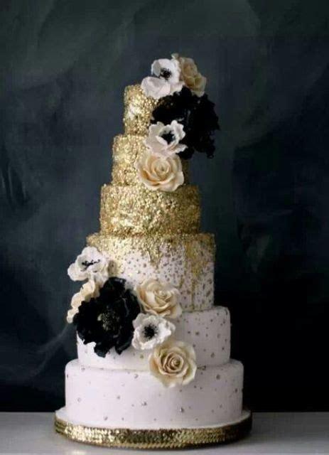 55 black and gold wedding ideas weddingomania