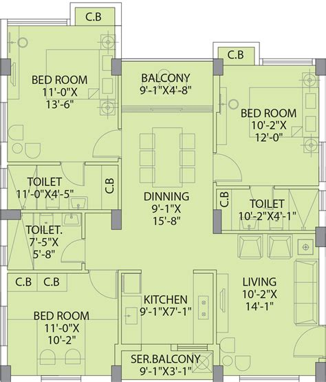 Copper Beech Floor Plans by Extraordinary Georgia Southern Housing Floor Plans Gallery