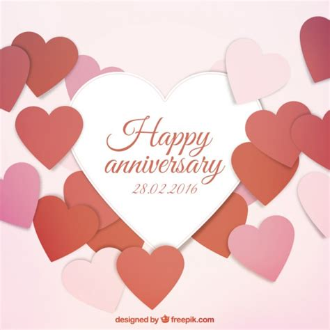 20 happy anniversary cards free happy anniversary card vector free