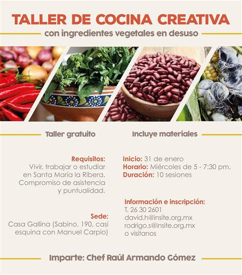 cocina creativa taller de cocina creativa