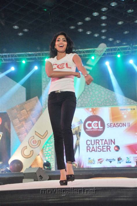 a curtain raiser movie picture 146408 shriya saran r walk ccl2 curtain