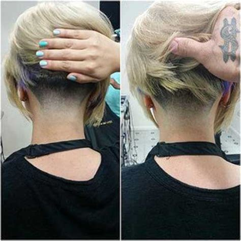 blonde bob undercut 10 tapered bob hairstyles bob hairstyles 2017 short