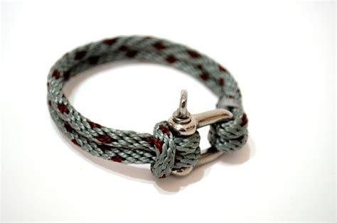 gray sailor bracelet nautical sailing bracelet stainless