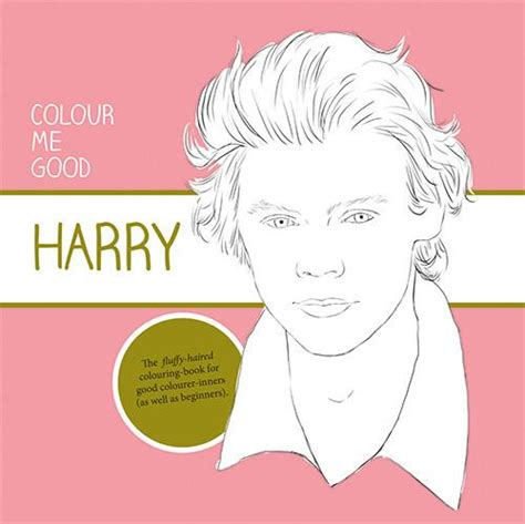 coloring book colour me good harry styles i love mel