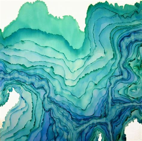 beautiful blue color 25 best ideas about watercolor painting on