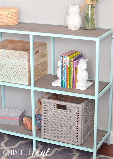 ikea bedroom shelves big girl room ikea vittsjo hack mint bookshelf a shade