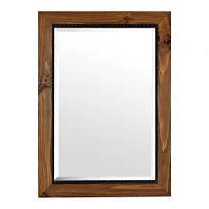oak framed mirrors bathroom barnwood oak framed mirror 31x43 in frame mirrors