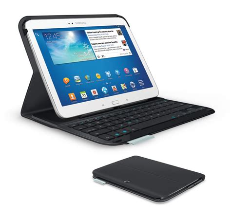 Samsung Galaxy Tab 1 10 Inch new logitech ultrathin keyboard folio for 10 1 inch samsung galaxy tab 3 black ebay