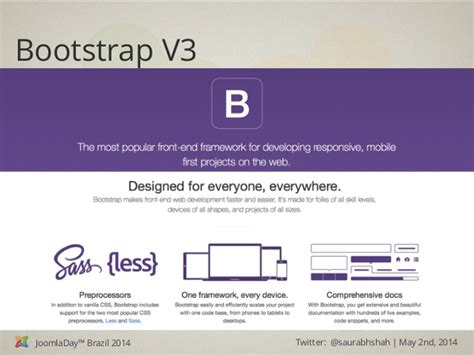 template joomla bootstrap 3 joomladay brazil 2014 joomla template with bootstrap 3