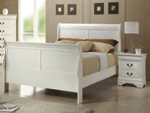 White Wooden Sleigh Bed White Sleigh Bed Car Interior Design