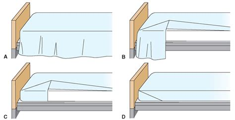 how to make a hospital bed beds and bed making client care nursing