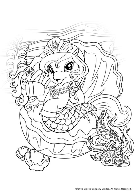 my Filly world pony toys coloring pages mermaids 1 by