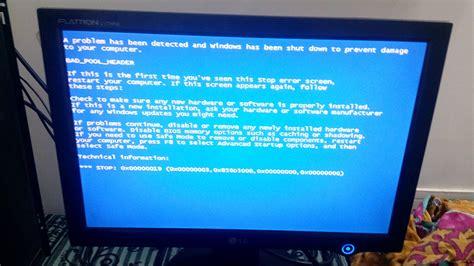 resetting battery windows 7 windows 7 blue screen error after replacing cmos battery