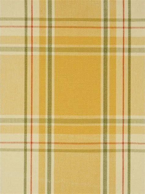 yellow plaid fabrics
