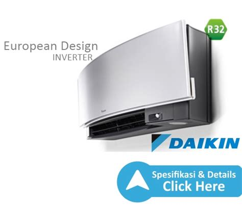 Ac Daikin European Design ac split inverter r32 european design w 2 pk dealer