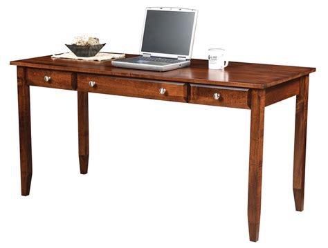 60 writing desk hton 60 quot writing desk ohio hardwood furniture