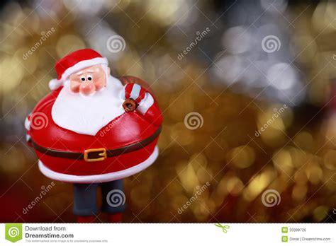 santa clause bring the gifts card royalty free stock image