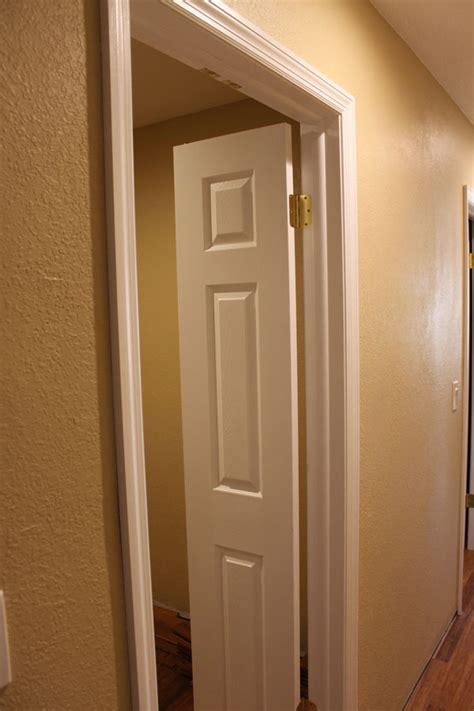 The Master Closet Doors Are Installed Huebsch House Catches For Closet Doors