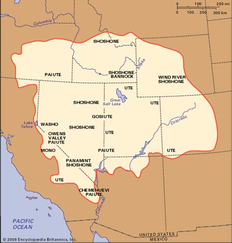 map of the united states great basin great basin indian distribution kids encyclopedia