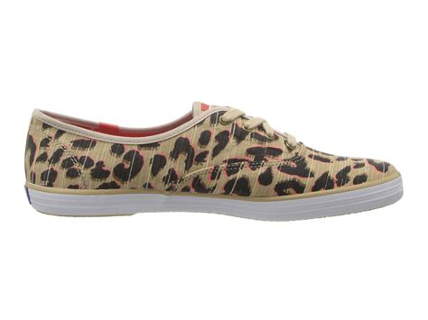 keds leopard sneakers keds chion leopard twill zappos free shipping