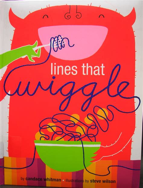 lines books lines that wiggle by whitman illustrations by