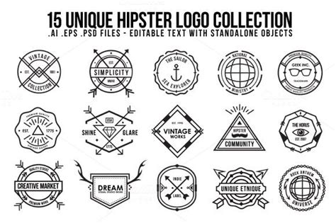 how to make a hipster logo in photoshop youtube unique hipster logo logos simple logos and creative